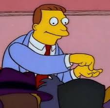 """Pero yo pregunto ¿Que es un contrato?.El... - Lionel Hutz """"Soy una ..."""